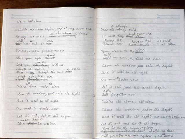 歌詞書き取りノート
