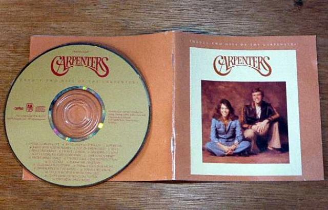 カーペンターズCDと歌詞カード