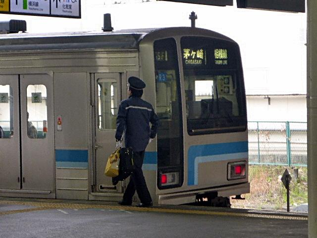 茅ヶ崎行きの電車