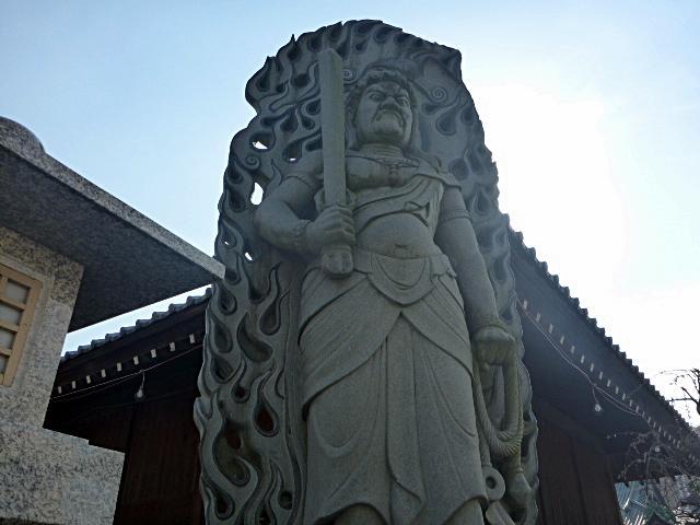 喜多院入口の像