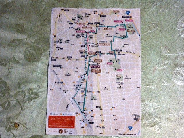小江戸バーチャル散策マップ
