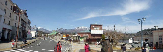 日光駅前パノラマ撮影