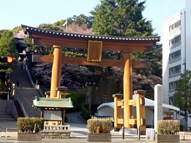 二荒山神社の鳥居