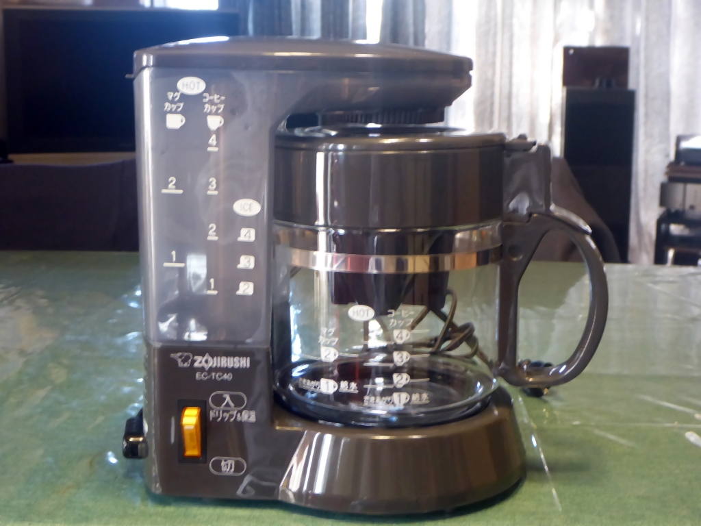 コーヒーメーカーEC-TC40